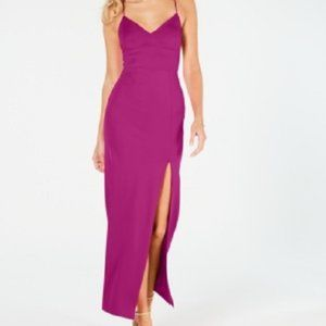 New Adrianna Papell Lola Jersey Prom Evening Gown